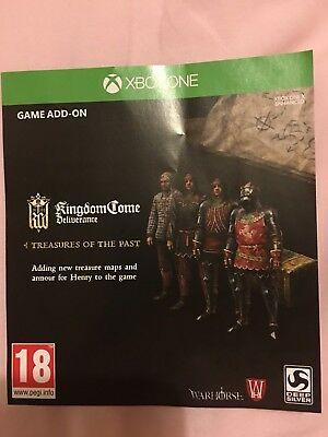 Kingdom Come Deliverance - Treasures of the Past DLC for Xbox One - No game