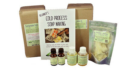 Basic Cold Process Soap Making Kit (without moulds) Lavender Essential oil