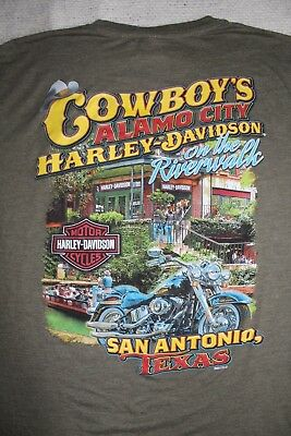 Harley Davidson Alamo City T Shirt Official Licensed San Antonio
