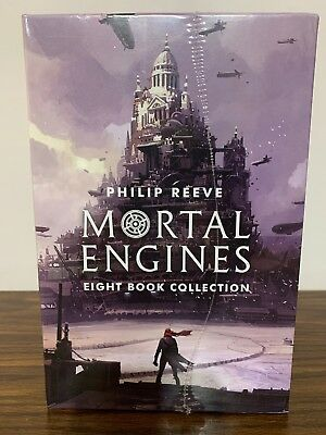 Mortal Engines 8 Book Collection Philip Reeve Box Set NEW SEALED! Fast Shipping!