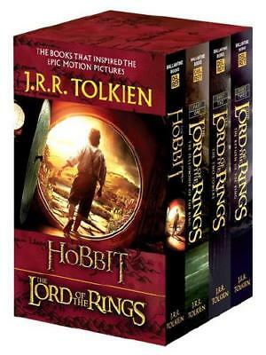 J.R.R. Tolkien 4-Book Boxed Set: The Hobbit and The Lord of the Rings (Movie ...