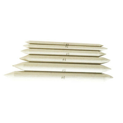 Pack of 6x Sketch Blending Stumps Paper Erase Marker Pen Pastel Art Painting