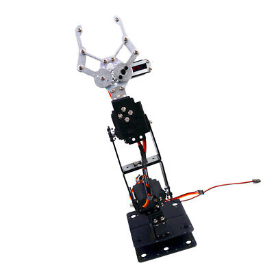 4DOF Fully Assembled Mechanical Robotic Arm Clamp Claw Arduino Raspberry