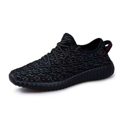 AU Men's Yeezy1 Style Running Shoes Big Size Breathable Casual Walking Shoes Hot