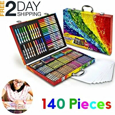 Coloring Art Case Set Drawing Painting Pencils Supplies Christmas Gift For kids