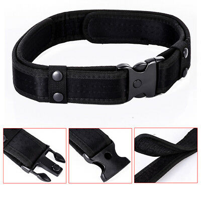 """2"""" Outdoor Utility Police Security Tactical Combat Gear Nylon Duty Belt Hot"""