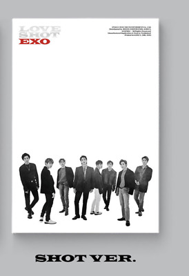 EXO-[Love Shot] 5th Repackage Shot CD+1p Poster+72p Booklet+1p PhotoCard+Gift