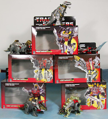Transformers G1 DINOBOTS Grimlock/Slag/Sludge/ Snarl/ Swoop kids toys in stock