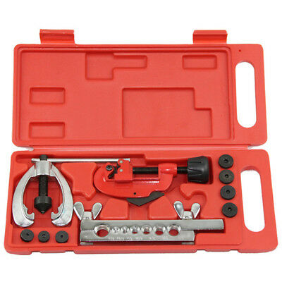 """Flaring Double Flare Tool Kit Tube Brake Pipe Air Conditioning Tool Kit 5/16"""""""