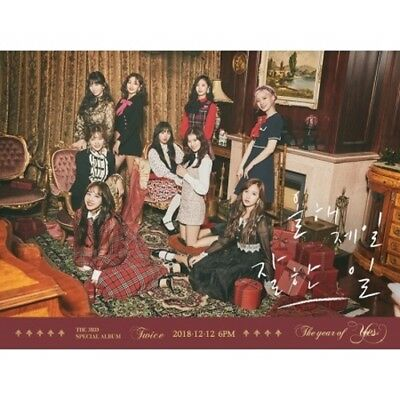 Twice-[The Year Of Yes]3rd Special Random CD+Poster+PhotoBook+Card+PreOrder+Gift