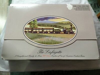 """Bachmann """"The Lafayette"""" Electric HO Scale Train Set  NEW in sealed box (T003)"""