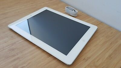 6/10 MULTIPLE ISSUES Apple iPad 4th Gen. 16GB, Wi-Fi + Cellular, White & Silver