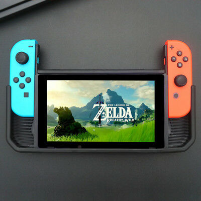 Hybrid Cover Case for Nintendo Switch Rugged Rubberized Snap on Hard Cover TPU