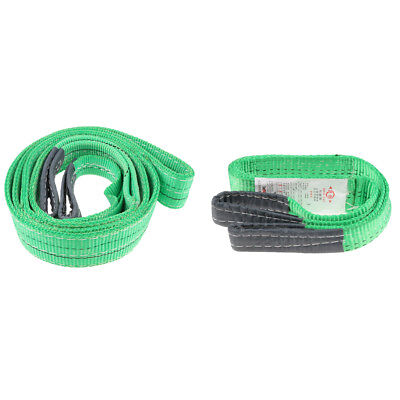 1Ton 2 Ton Heavy Duty Lifting Sling Towing Pulling Rope Strap Anti-Corrosion