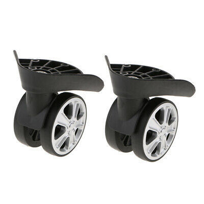4 Pack Replacement Luggage Suitcase Wheels Swivel Casters Rollers J-049A