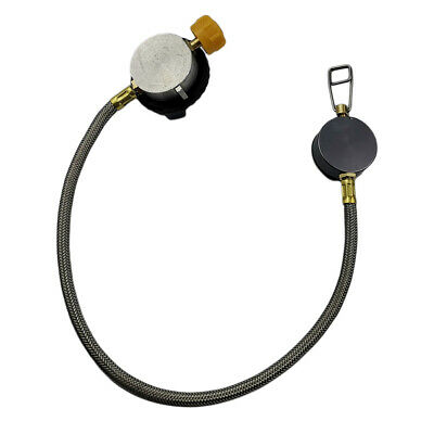110cm Cooking Gas Stove Stove 12 in Hose Pipe Propane Refill Adapter Burner