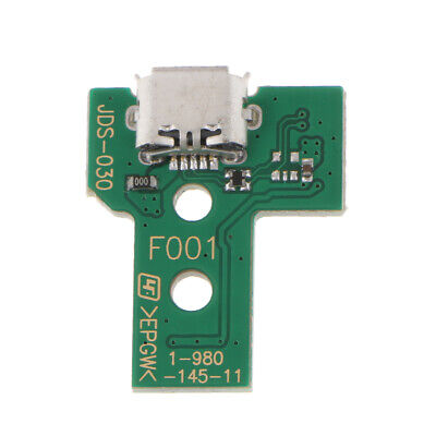 12Pin USB Charging Port Socket Circuit Board for Sony PS4 Controller JDS 030
