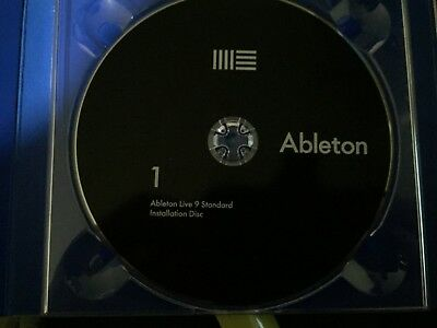 Ableton Live 9 Standard License Transfer(Can upg to Live 10 on ableton site4free