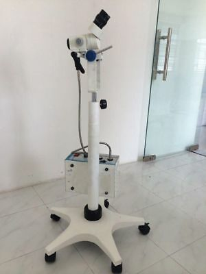 Colposcope Portable 3 Step Magnification,Light Source & Beam Spliter