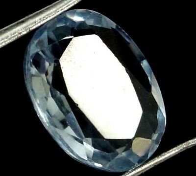 GGL Certified 3.35 Ct Natural Oval Cut Charming Looking Aquamarine Gemstone