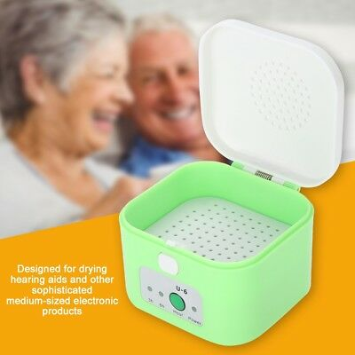 Drying Box Headphone Dehumidifier Moisture Proof Hearing Aid Dryer Case HighQ