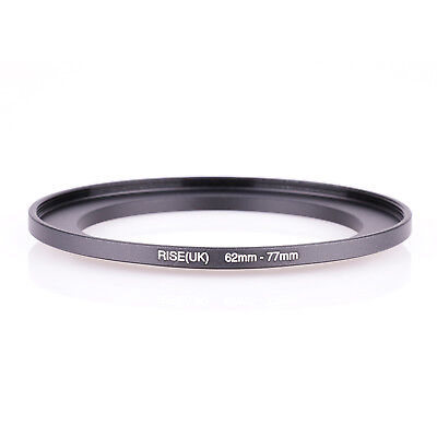 RISE (UK) 62-77 62mm-77mm  Matel Step-up Filter Ring Camera Lens Adapter
