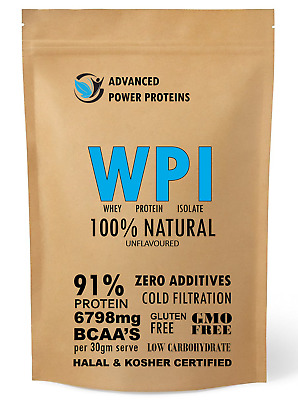 UNFLAVOURED WHEY PROTEIN ISOLATE 6kg (100% WPI)