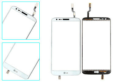 WHT Touch Screen Digitizer Glass Replacement+Adhesive Sheet for LG G2 D800 D801