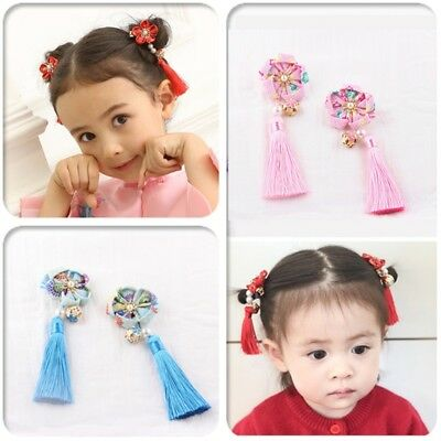Chinese Style Hairpin Tassel Hair Pin Clip Accessories Lovely Ancient For Girls
