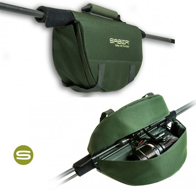 Saber Reel Protector Case Carp Fishing Reel Cover For Big Pit Carp Runner Reels