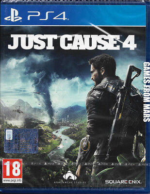 Just Cause 4 Ps4 Nuovo Completamente In Italiano