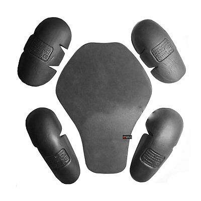 5PC CE Dual Density Flexible Removable Armor All Brands Motorcycle Biker Jackets