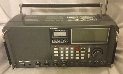 Grundig satellit 800 millenium world receiver: use and care guide.