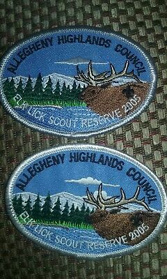 2006 allegheny highlands camp  patch set