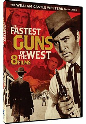 Fastest Guns Of The West-8 William Castle Westerns(2 Disc)Dvd