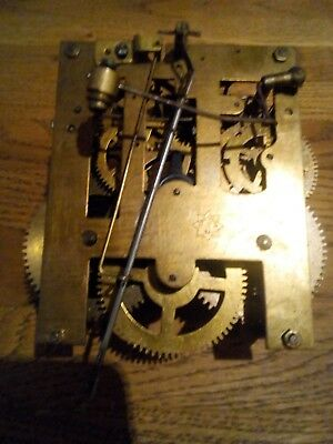 Vintage Junghans Chime Clock. Possibly 8 Day Movement. (Working)