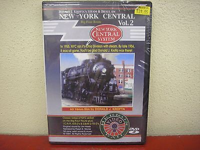 Steam & Diesel On New York Central Big Four Route Vol 2 DVD Herron Rail Video