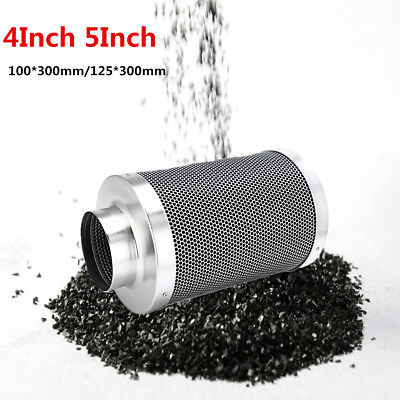 4'' 5'' Hydroponics Air Carbon Filter Charcoal Indoor Activated Plant Exhaust