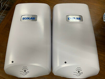 (2) Ecolab Nexa Classic Touch-free hand hygiene dispenser touchless soap 9202