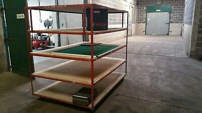 *two*castor Wheeled Mobile Racking
