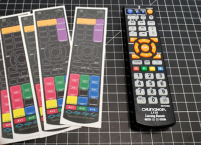 OSSC (Open Source Scan Converter) Remote Overlay for the Chunghop L336 remote