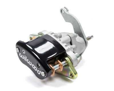 WILWOOD Black Mechanical Driver Side MC4 Brake Caliper P/N 120-12070-BK