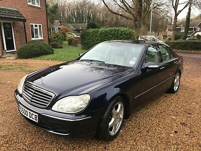 MERCEDES-BENZ S CLASS 320 cdi 2003 Auto with private plate