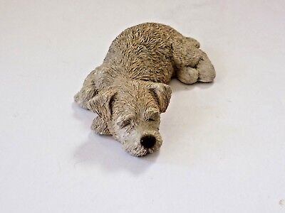Collectible Brue Sandicast Light Brown Dog Animal Figurine