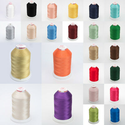 Gunold Sulky Rayon Machine Embroidery Thread 1000m Cones Many Colours to Choose