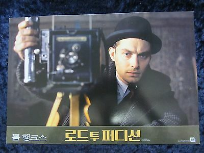 ROAD TO PERDITION  lobby card #3 - TOM HANKS, PAUL NEWMAN, JUDE LAW
