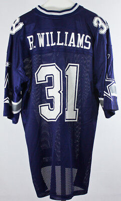 Vintage Reebok NFL Dallas Cowboys Roy Williams Jersey  31 Men s Size XL 193a6a28b