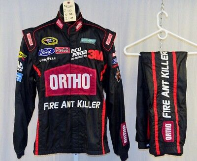Greg Biffle Ortho Simpson SFI5 Race Used NASCAR Suit #4620 40/28/29