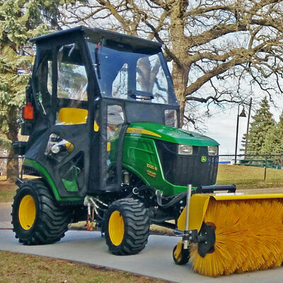 Cab for John Deere 1025R, 1026R and 1023E (Hard Windshield + Wiper)