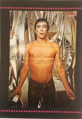 IGGY POP & AC/DC Swedish Poster Book Clipping *Pin Up Magazine Angus Young Acdc